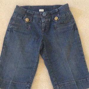 Dressy denim long shorts Cache 6